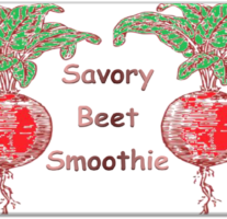 Beet Smoothie – Beveled Icon