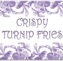 Crispy Turnip Fries – Bevel Icon