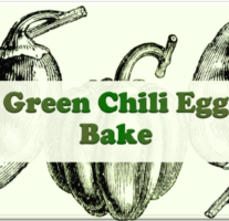 Green Chili Egg Bake – Beveled Icon