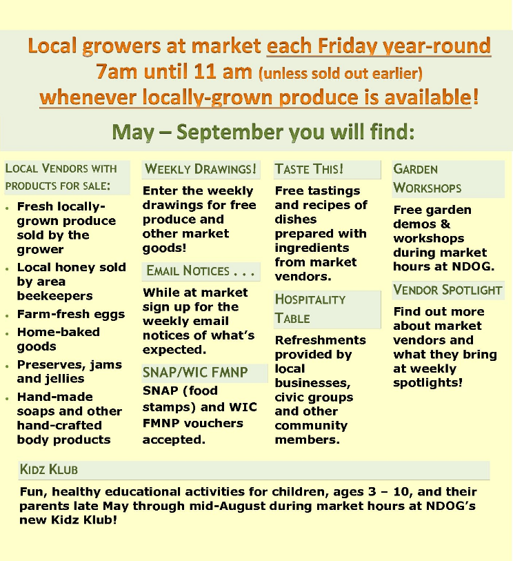Nashville Growing Healthy Communities » Farmers Market