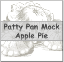 Patty Pan Mock Apple Pie – Bevel Icon