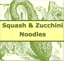 Squash and Zucchini Noodles – Beveled Icon
