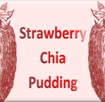 Strawberry Chia Pudding – Beveled Icon