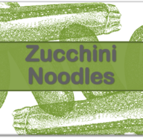 Zucchini Noodles – Beveled Icon
